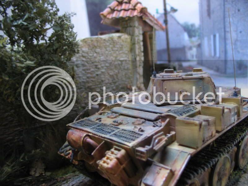 Normandie 1944 - Jeep ITALERI et Panzer Luchs ICM - 1/35 IMG_2139