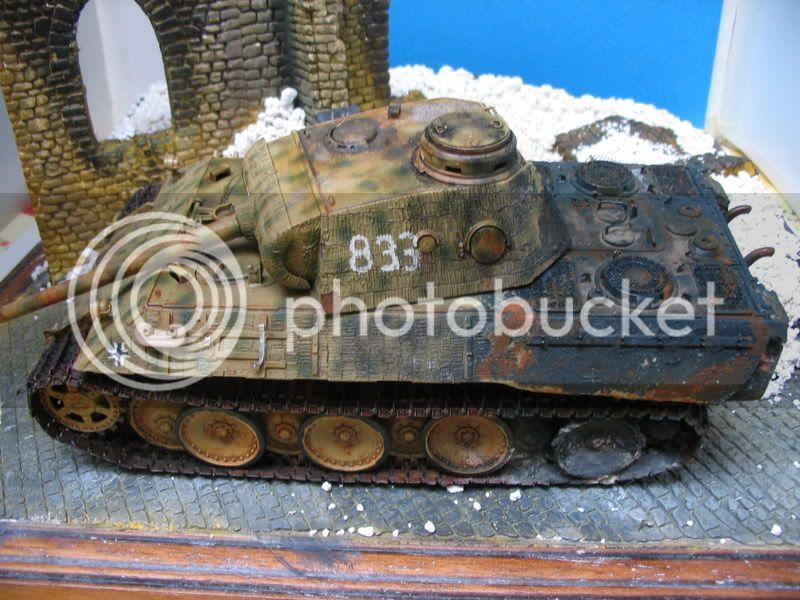 Contre-attaque russe - Panther Italeri + figurines Tamiya et Dragon - 1/35 IMG_2604