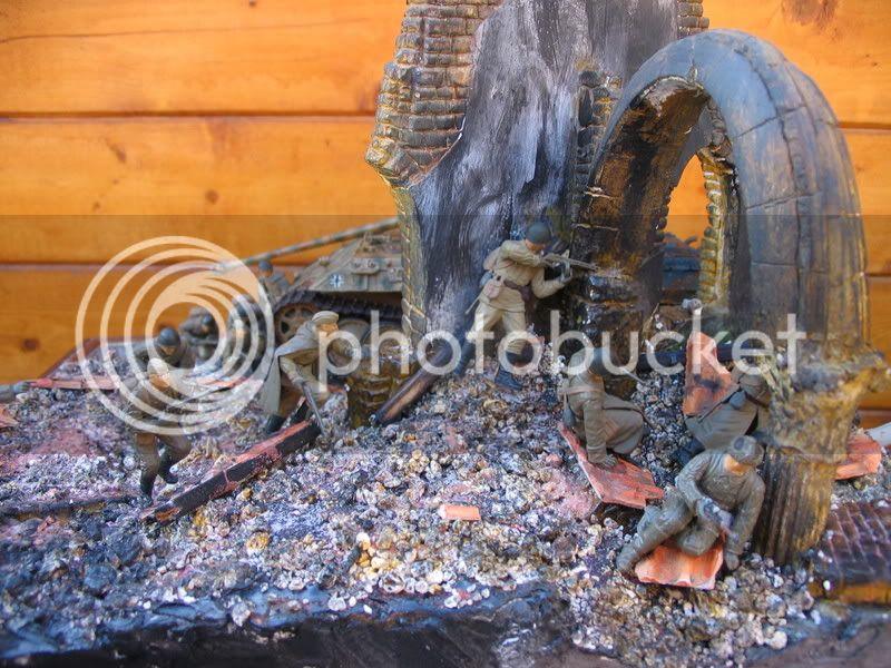 Contre-attaque russe - Panther Italeri + figurines Tamiya et Dragon - 1/35 IMG_2617