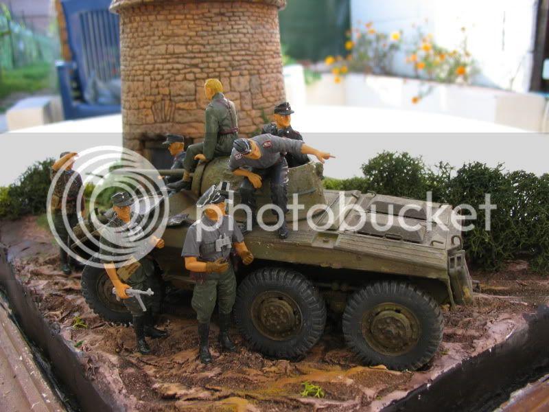 recyclage M8 tamiya 1/35 figurines dragon F
