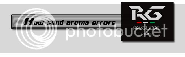 [ROM HTC ONE M8] KITKAT 4.4.2  Sense 6 | Rayglobe v1.1 ●►  Aroma_errors_zps7368dfe9