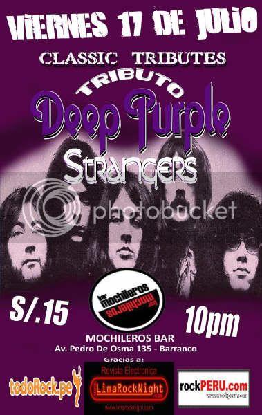 STRANGERS tributo peruano a Deep Purple Strangers_2Mochileros