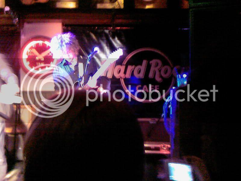 Ghosts @ Hard Rock Cafe, London 17/10/07 Gav