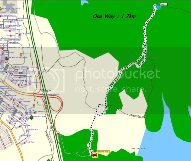 [New Year Trail] First Trail of 2012 - 01 Jan 2012 - Woodcutter's Stream Trail 01JanTrail