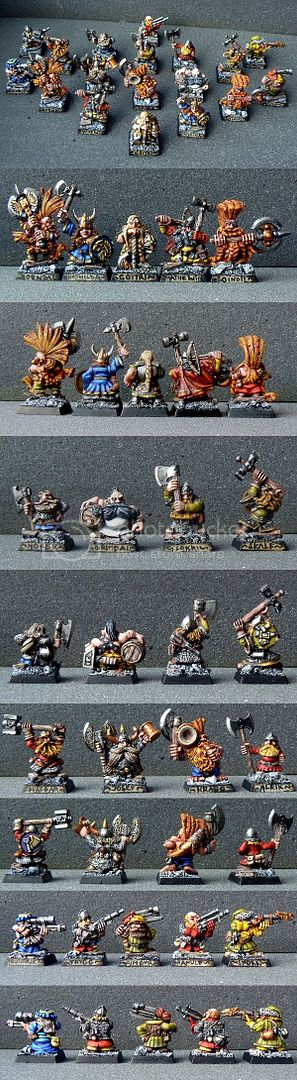 Skavenblight's Dwarf Treasure Hunters Krasnoludy1