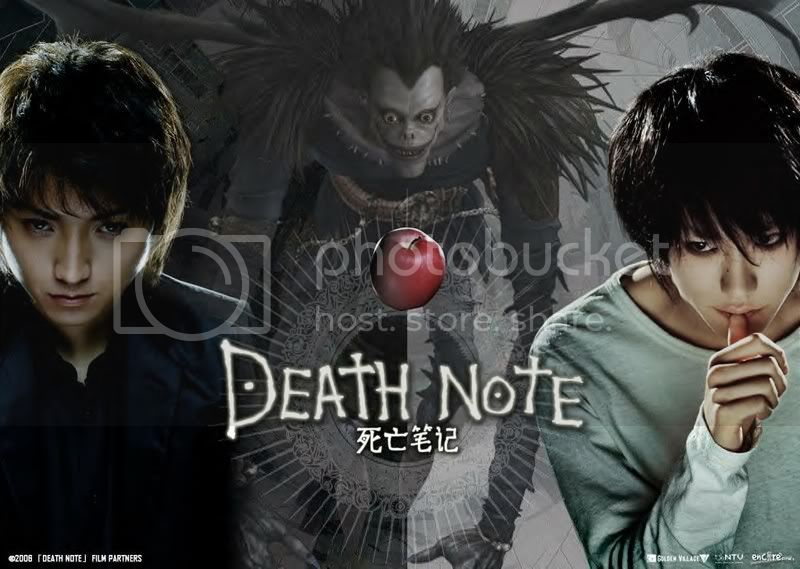 Death Note DeathNotetheMovie