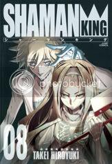 Shaman King Kang Zeng Bang Volume-8-cover