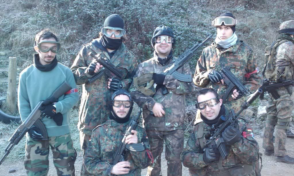 23/01/2011  PARTIDA MATUTINA EN EL CAMPO DE SANT FOST. IMAG0422