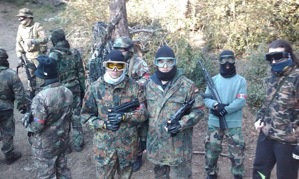 23/01/2011  PARTIDA MATUTINA EN EL CAMPO DE SANT FOST. IMAG0424
