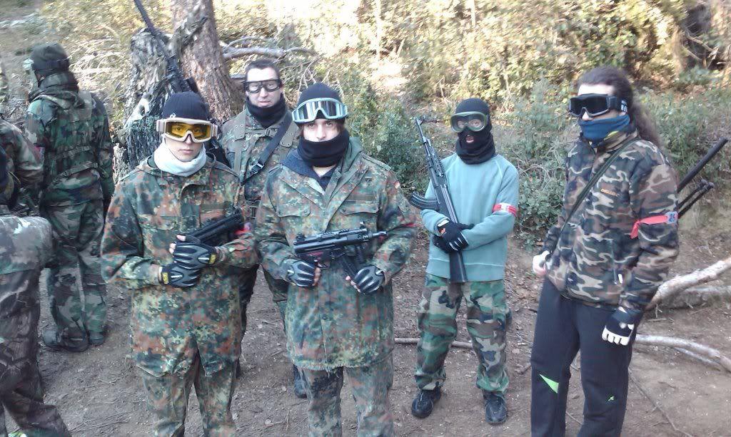 23/01/2011  PARTIDA MATUTINA EN EL CAMPO DE SANT FOST. IMAG0425