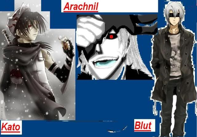 I can make a collage of your characters Evil-1