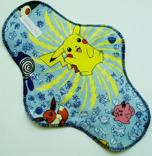 For those Pokemon fans out there....I mean Shamus. Pokemon-Menstrual-Pad