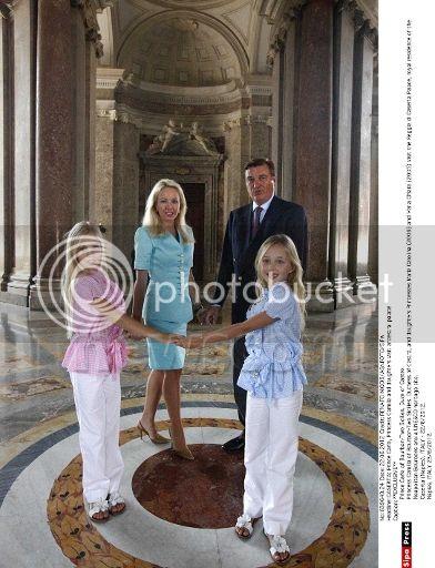 REAL CASA DE BORBON - DOS SICILIAS Newscom-sipaphotosthree648609