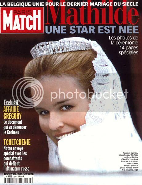 Mathilde de Bélgica 16december1999