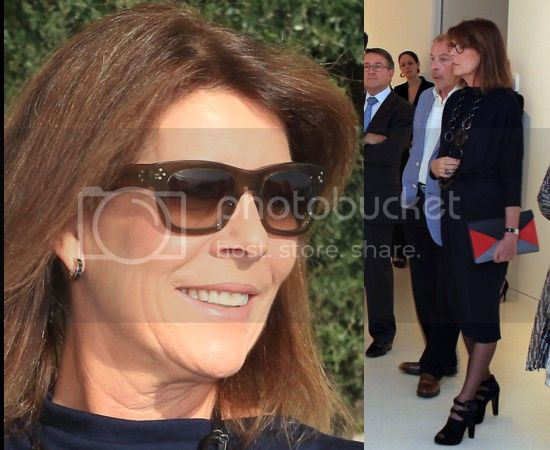 Carolina, princesa de Hannover y de Mónaco - Página 6 Caroline-de-Monaco-ultra-fashion-pour-inaugurer-Promenades-d-amateurs_zps2bfa620d