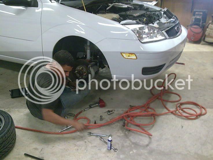 Build progress Fordfrontendupgaradeonlythebestonthiscar