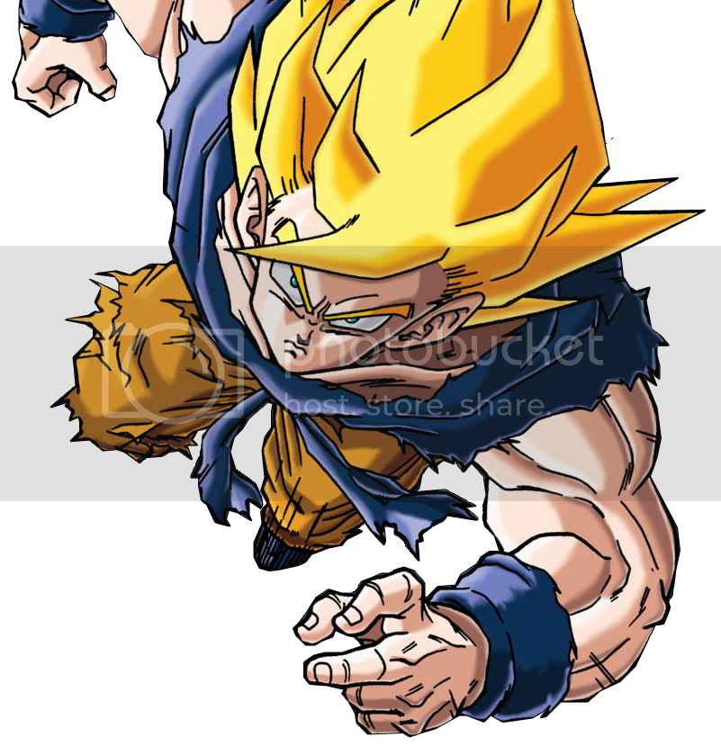 Renders de Anime Part. 1 1_Render_Goku