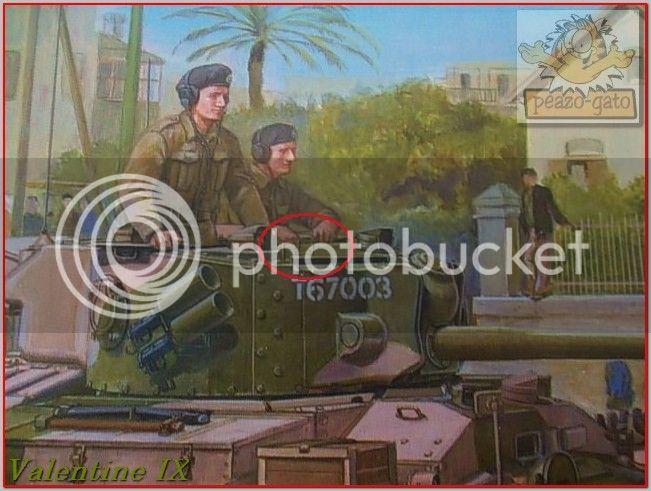 Valentine IX , Gaza 1943 95ordmValentineIXpeazo-gato