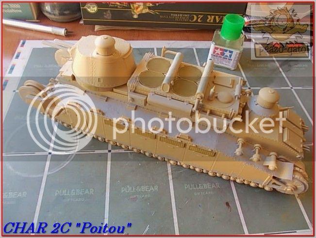 """Char 2C """"Poitou"""", 1939 (terminado 29-05-14) 70ordmChar2CPoitoupeazo-gato"""