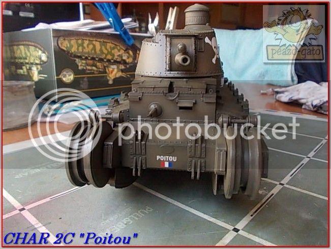 """Char 2C """"Poitou"""", 1939 (terminado 29-05-14) 80ordmChar2CPoitoupeazo-gato"""
