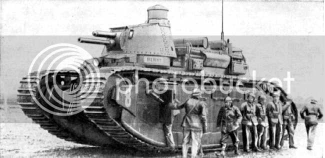 """Char 2C """"Poitou"""", 1939 (terminado 29-05-14) Fra-Char2C-70tons-1"""