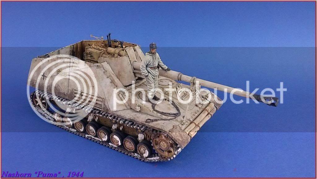 """Sd.Kfz 164- NASHORN """"Puma"""" , Smolensk 1944 130ordmNashornPumapeazo-gato"""