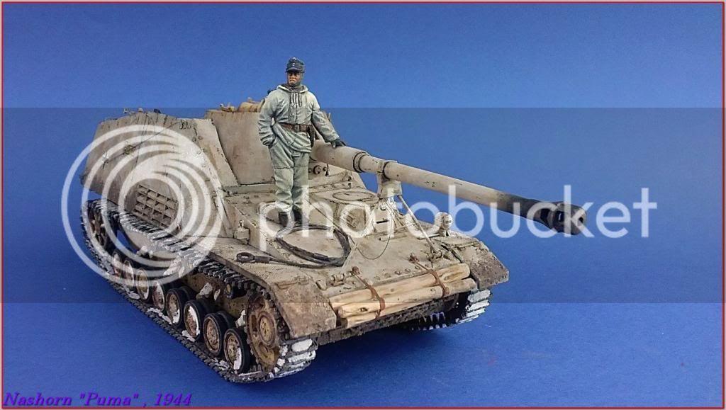 """Sd.Kfz 164- NASHORN """"Puma"""" , Smolensk 1944 131ordmNashornPumapeazo-gato"""
