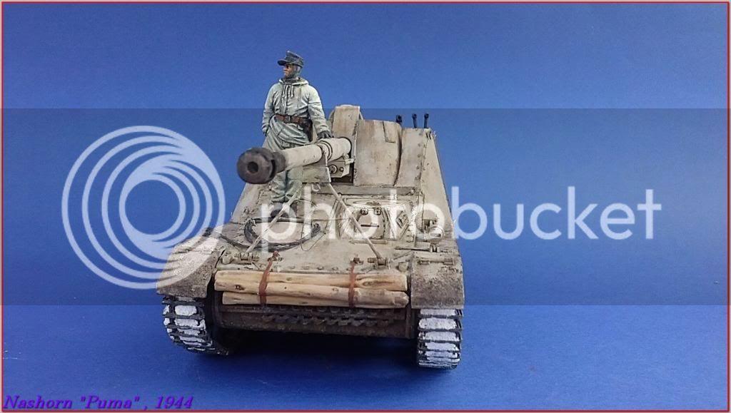 """Sd.Kfz 164- NASHORN """"Puma"""" , Smolensk 1944 133ordmNashornPumapeazo-gato"""