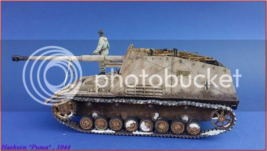 """Sd.Kfz 164- NASHORN """"Puma"""" , Smolensk 1944 135ordmNashornPumapeazo-gato"""