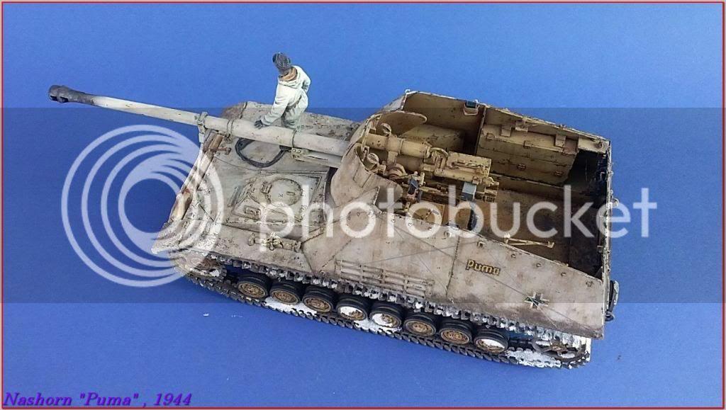 """Sd.Kfz 164- NASHORN """"Puma"""" , Smolensk 1944 136ordmNashornPumapeazo-gato"""