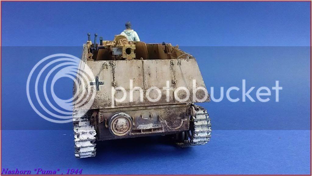 """Sd.Kfz 164- NASHORN """"Puma"""" , Smolensk 1944 138ordmNashornPumapeazo-gato"""