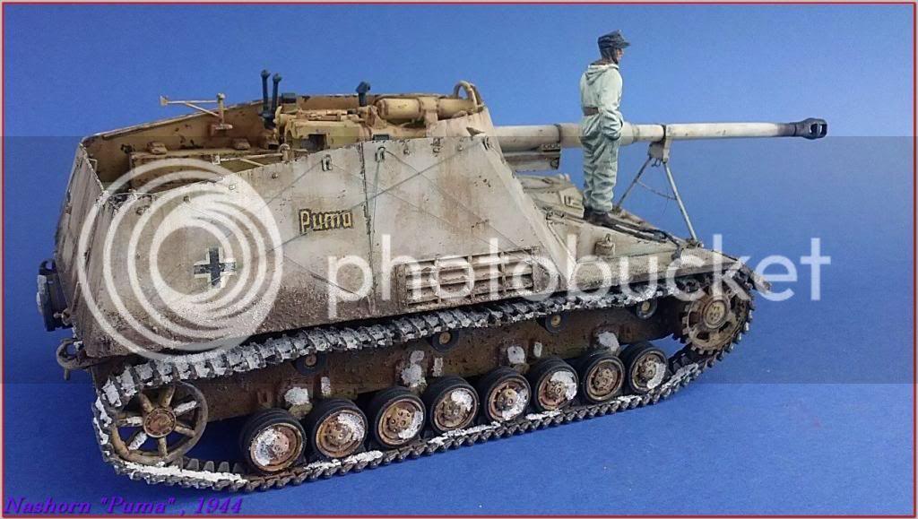 """Sd.Kfz 164- NASHORN """"Puma"""" , Smolensk 1944 139ordmNashornPumapeazo-gato"""