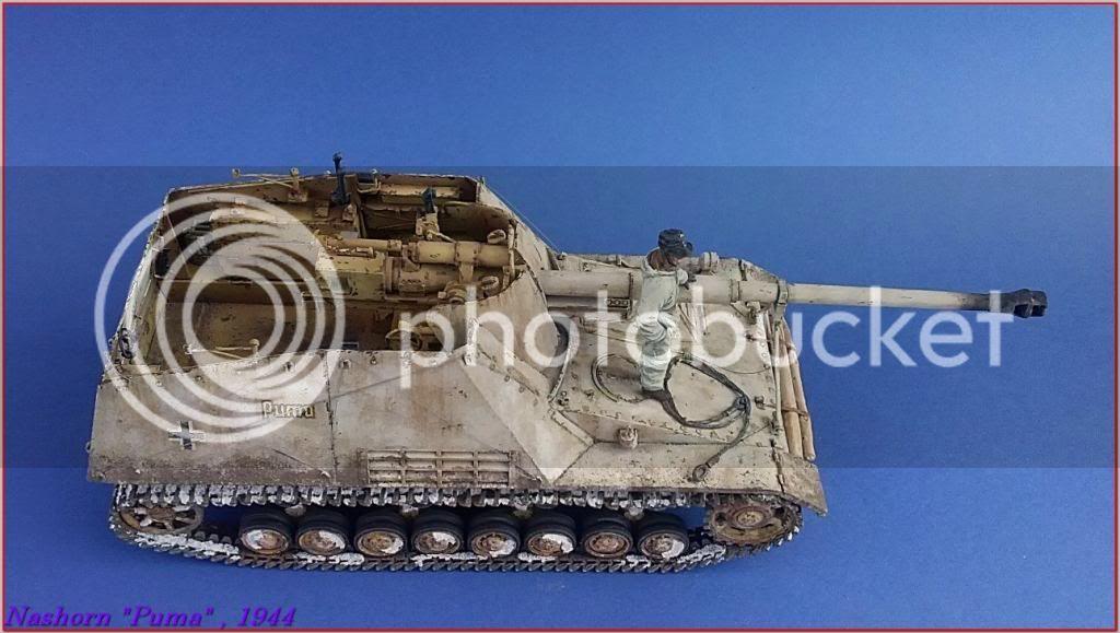 """Sd.Kfz 164- NASHORN """"Puma"""" , Smolensk 1944 141ordmNashornPumapeazo-gato"""