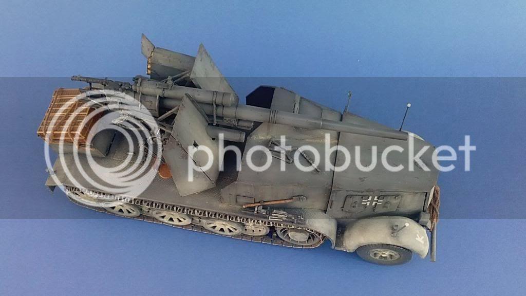German 8.8cm FlaK 18 Selbstfahrlafette  161ordmsemi-oruga88mmpeazo-gato