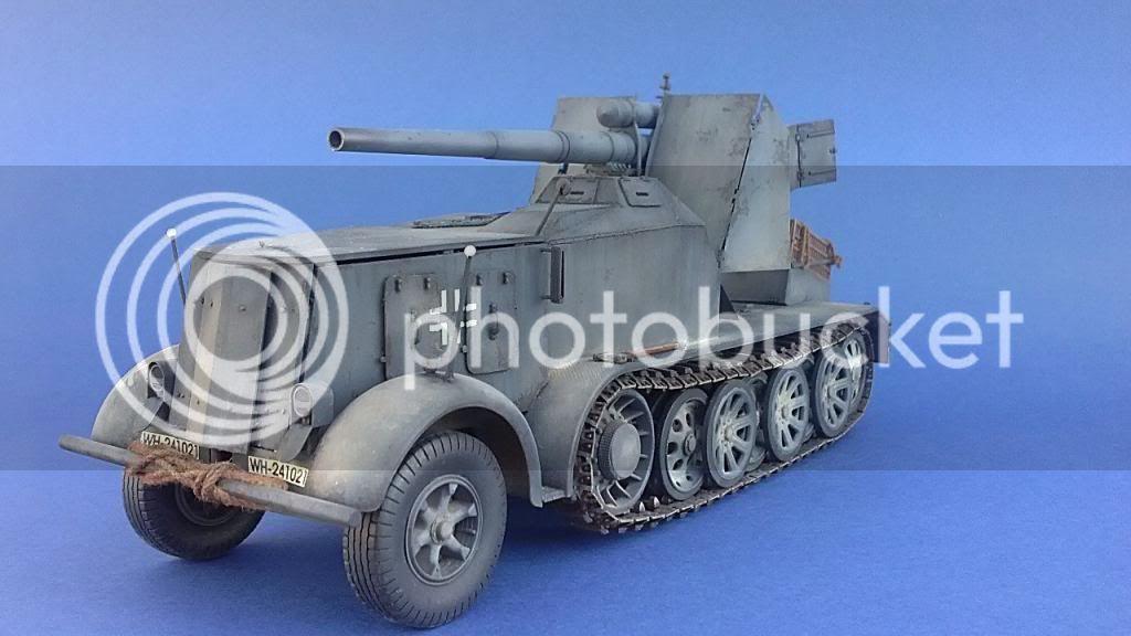 German 8.8cm FlaK 18 Selbstfahrlafette  164ordmsemi-oruga88mmpeazo-gato
