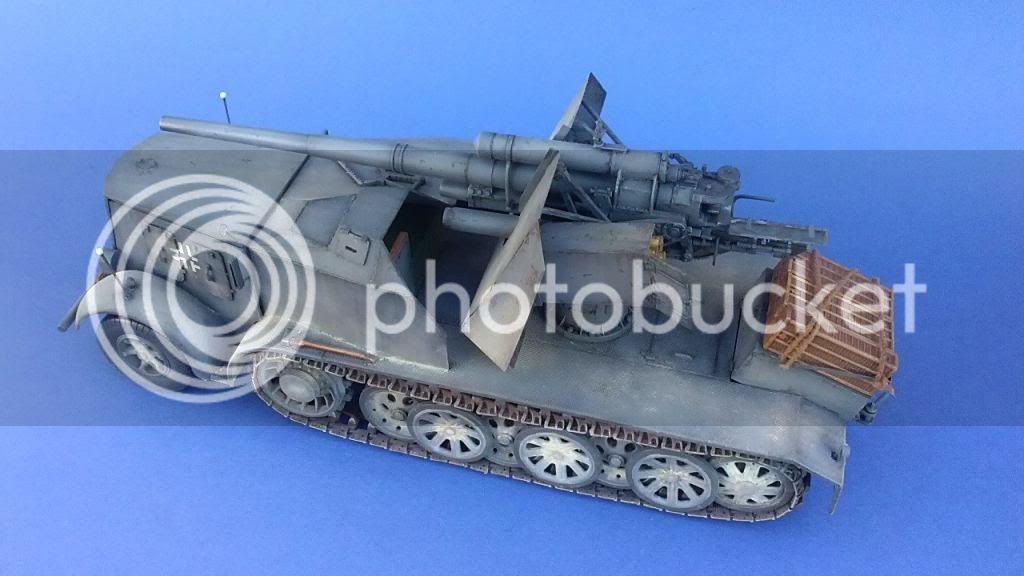 German 8.8cm FlaK 18 Selbstfahrlafette  167ordmsemi-oruga88mmpeazo-gato