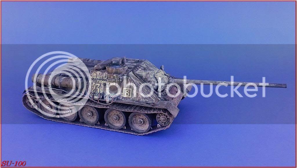 SU-100 , Hungria 1945 171SU-100peazo-gato
