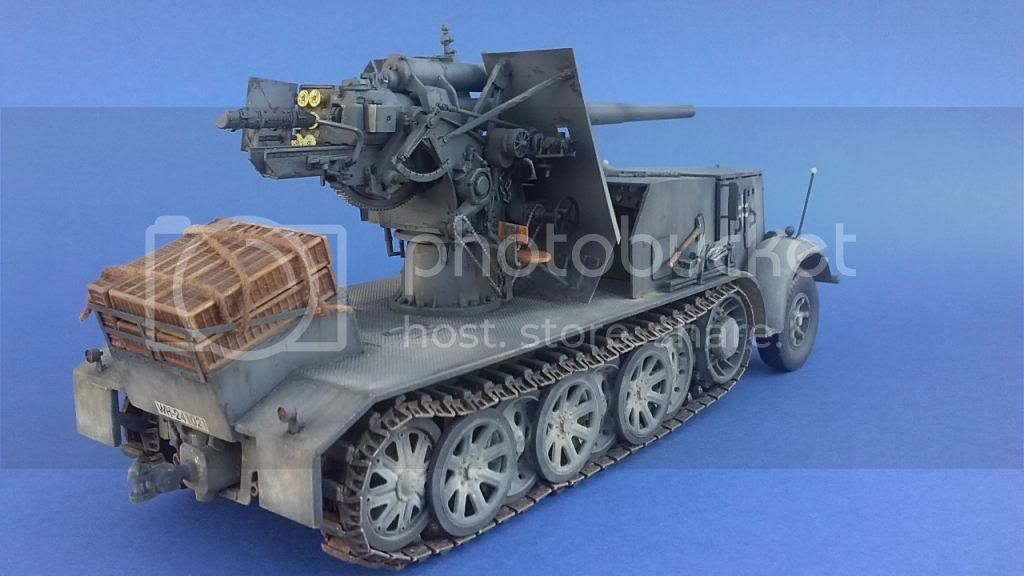 German 8.8cm FlaK 18 Selbstfahrlafette  171ordmsemi-oruga88mmpeazo-gato
