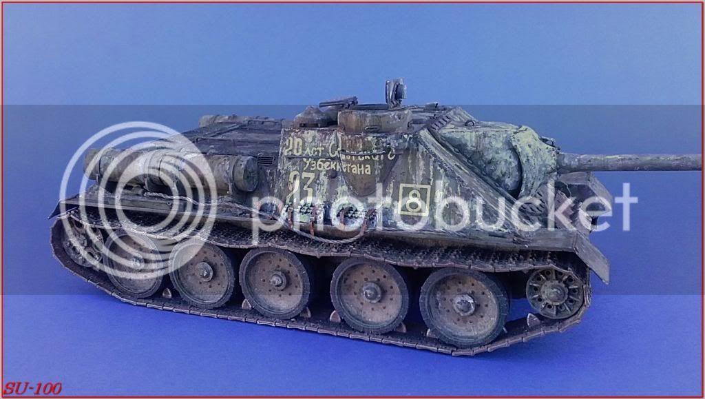 SU-100 , Hungria 1945 172SU-100peazo-gato