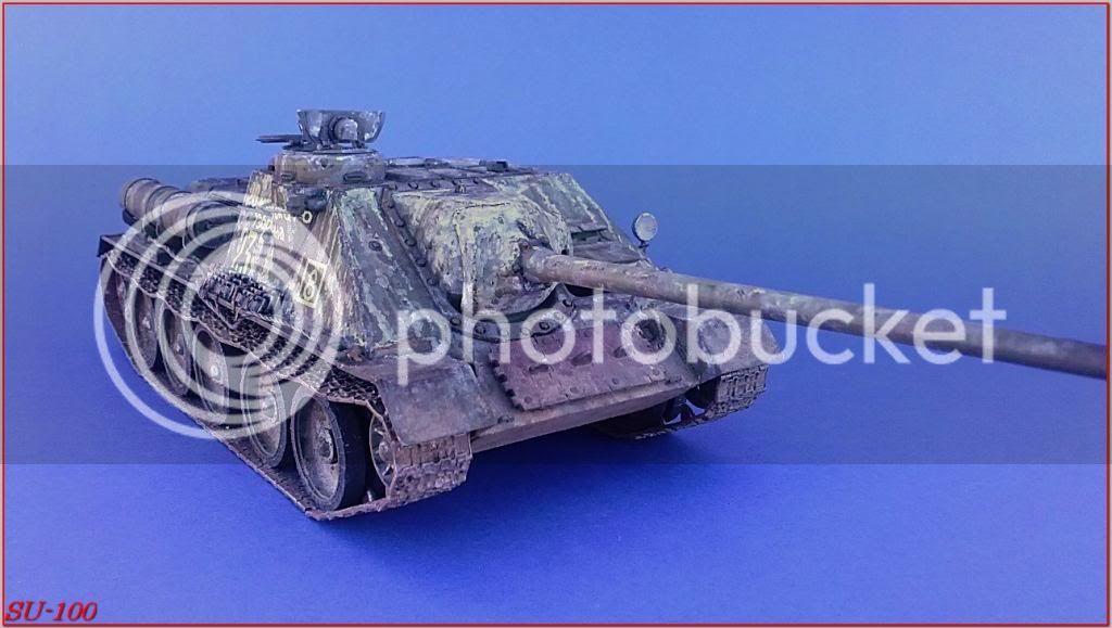 SU-100 , Hungria 1945 173SU-100peazo-gato