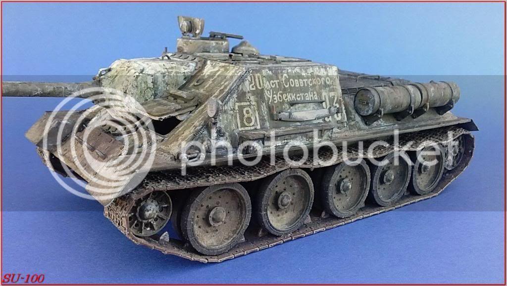 SU-100 , Hungria 1945 177SU-100peazo-gato