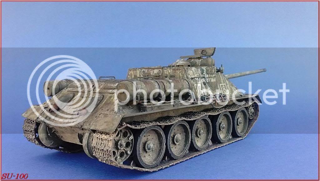 SU-100 , Hungria 1945 184SU-100peazo-gato
