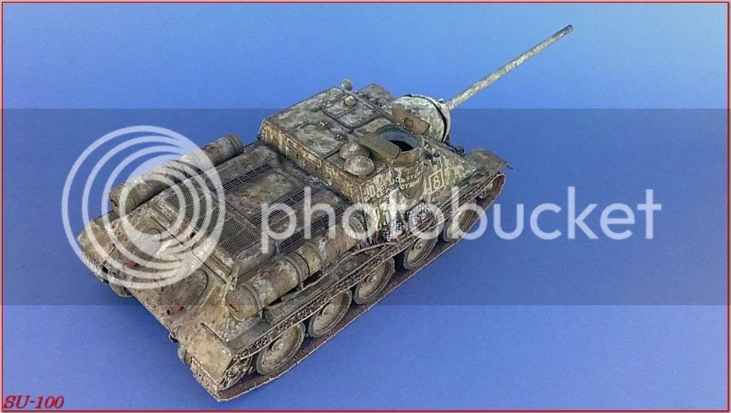SU-100 , Hungria 1945 185SU-100peazo-gato
