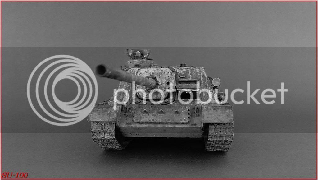 SU-100 , Hungria 1945 187SU-100peazo-gato