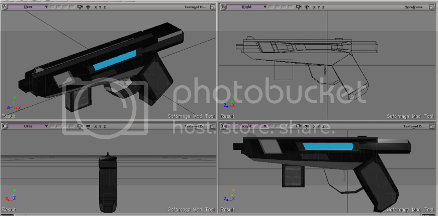 Model and Animation Showcase of 2012 Quickpistoltextures
