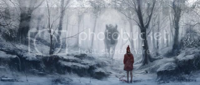The Great Wolf Her_Scent_2d_horror_wolf_picture_image_digital_art