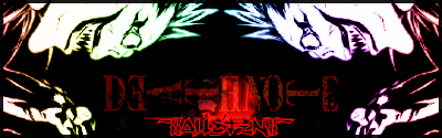 Some good GFX banners DeathNote