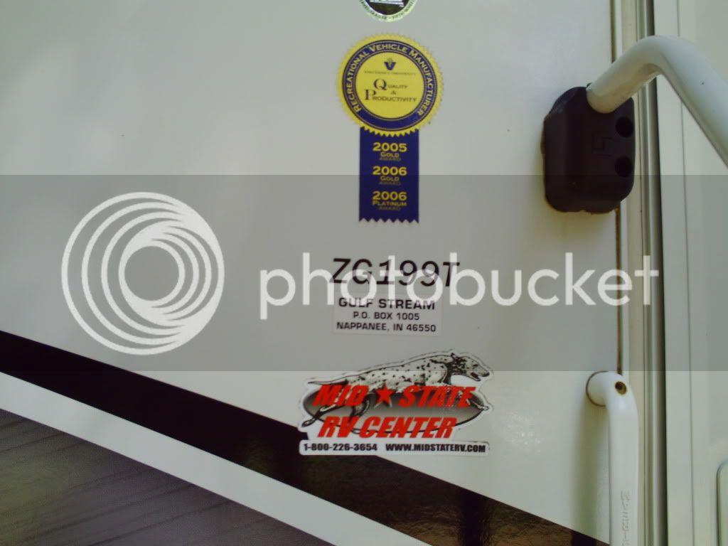 2008 Gulf Stream Zero Gravity Toy Hauler Camper Camper014