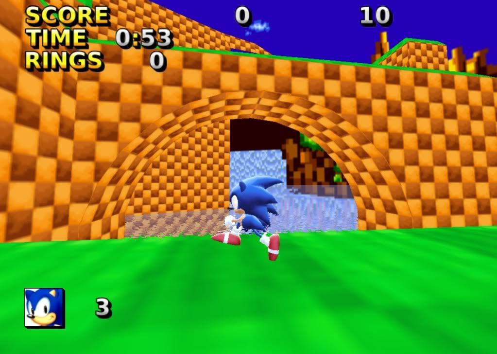 Sonic JR. ADVENTURE 3D! Screen1