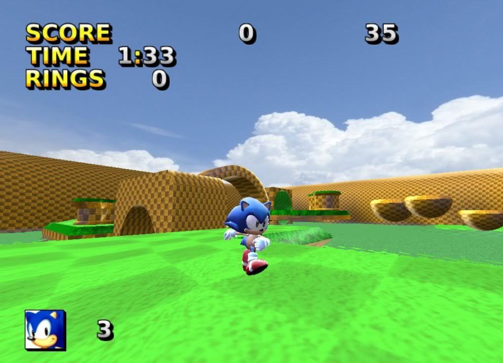 Sonic JR. ADVENTURE 3D! Screen2